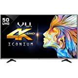 VU 124cm 50BU116 Ultra HD (4K) Smart LED TV (Black)