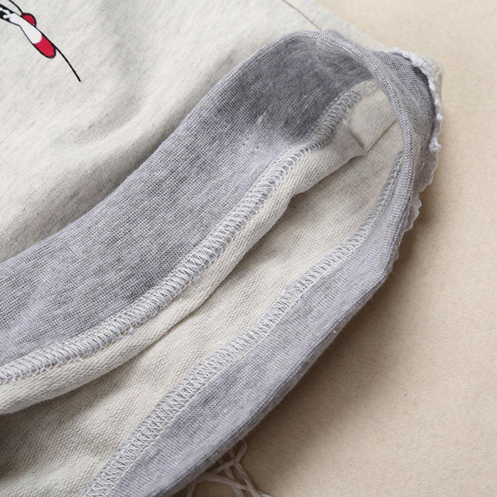 Zhuannian Set di felpa a maniche lunghe e jeans da bambina