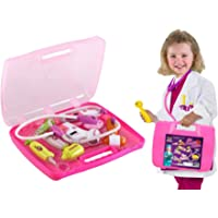 Webby Battery Operated Doctor's Kit with Light Sound Effects, Multi Color