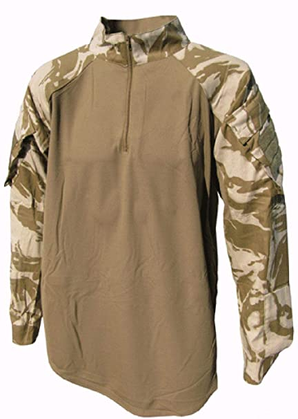 db01243d Amazon.com: British Military Under Body Armour Combat Shirt - DESERT ...