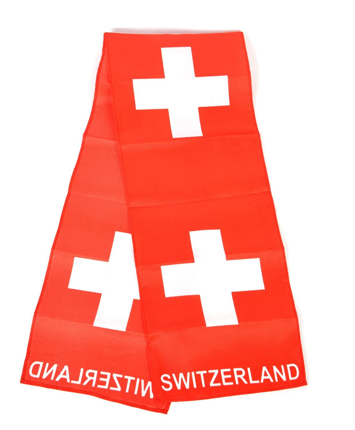 National Pride World Cup Scarves-3 Pieces Pack (Switzerland- 3 Pieces)