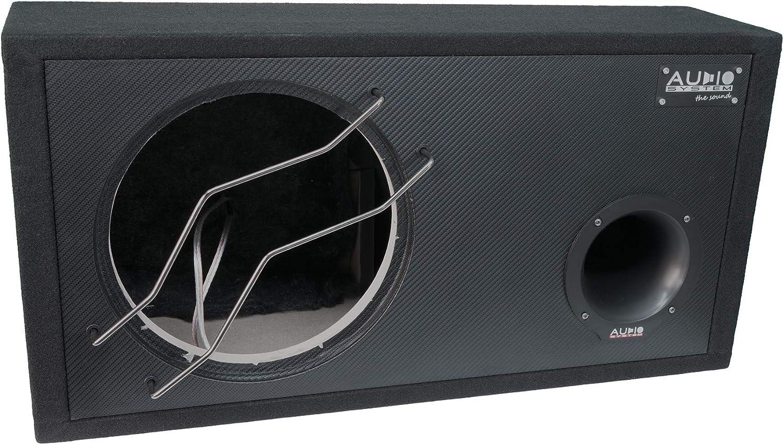 Audio System Br 12 60 C Leergehäuse Mit Carbon Front Elektronik