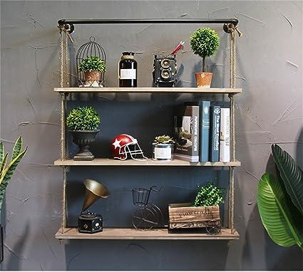 Mensole da muro / Parete Scaffale - Mensola a muro in legno massello ...