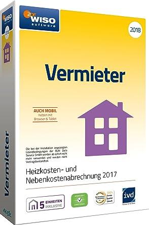 Wiso Vermieter 2018 Mietneben Und Heizkosten Korrekt Abrechnen