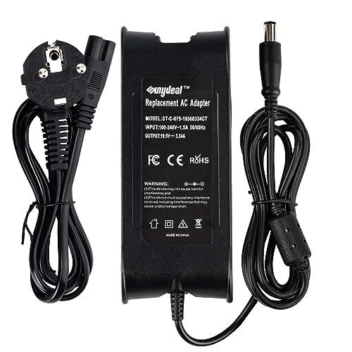 SUNYDEAL Alimentation Chargeur 19.5V 65W 3.34A Adaptateur Secteur PC Portable Remplacement pour Dell PA-12 Inspiron 1501 6000 6400 Inspiron 1545 XPS INSPIRON 300M 1720 1721