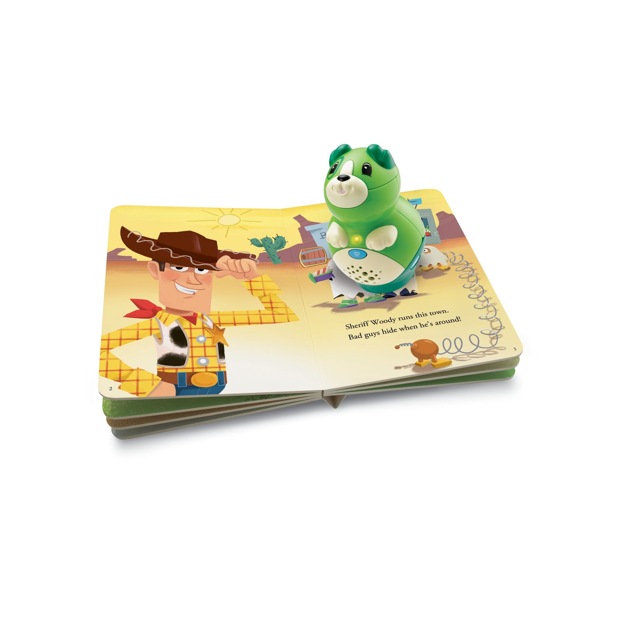 LeapFrog LeapReader Junior Book: DisneyPixar Toy Story 3: To Imagination and Beyond (works with Tag Junior) by LeapFrog (Image #2)