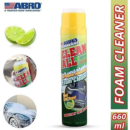 Abro limpia todos los limpiador de espuma 650 ml asiento de ...