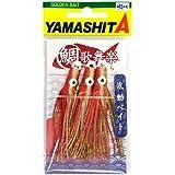 ヤマシタ(YAMASHITA) タイラバ 鯛歌舞楽(たいかぶら) 波動ベイト 約68mm オレンジ金