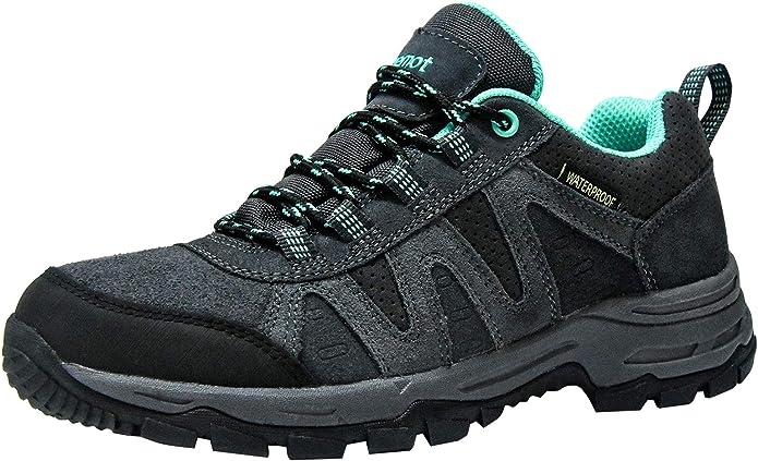 riemot Zapatillas Trekking para Mujer, Zapatos de Senderismo Calzado de Montaña Escalada Aire Libre Impermeable Ligero Antideslizantes Zapatillas de Trail Running: Amazon.es: Zapatos y complementos