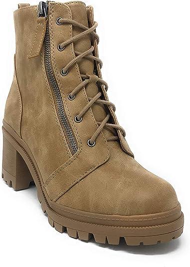 Amazon.com   Soda Boots Women's Camel