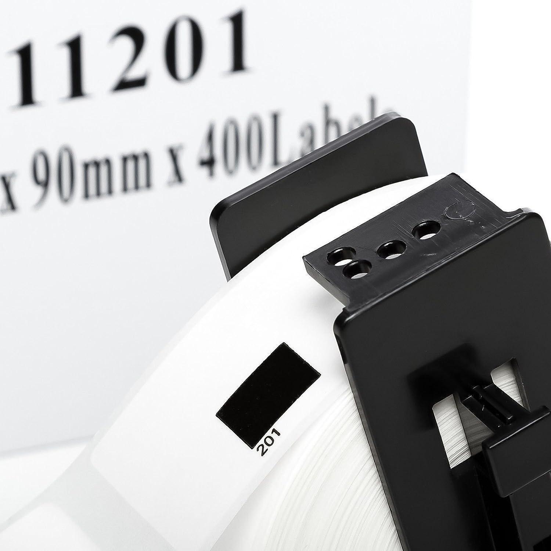 3 PCS ROLLS 29mmx 90mm Labels DK11201 QL500 QL 550 560 570 580 Brother DK-11201