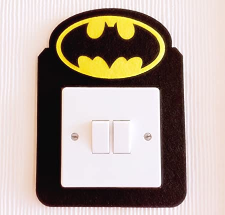 Super cool 3d superheroes light switch wall stickers marvel avengers iron man captain