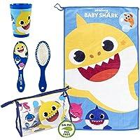 CERDÁ LIFE'S LITTLE MOMENTS, Neceser Infantil Completo de Baby Shark-Licencia Oficial Nickelodeon para Niños, Azul…