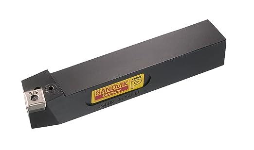 CNMG 643 Insert Size Sandvik Coromant PCBNR 4040S 19 Turning Insert Holder Right Hand 250mm Length x 35mm Width Square Shank Steel External 40mm Width x 40mm Height Shank Lever Lock