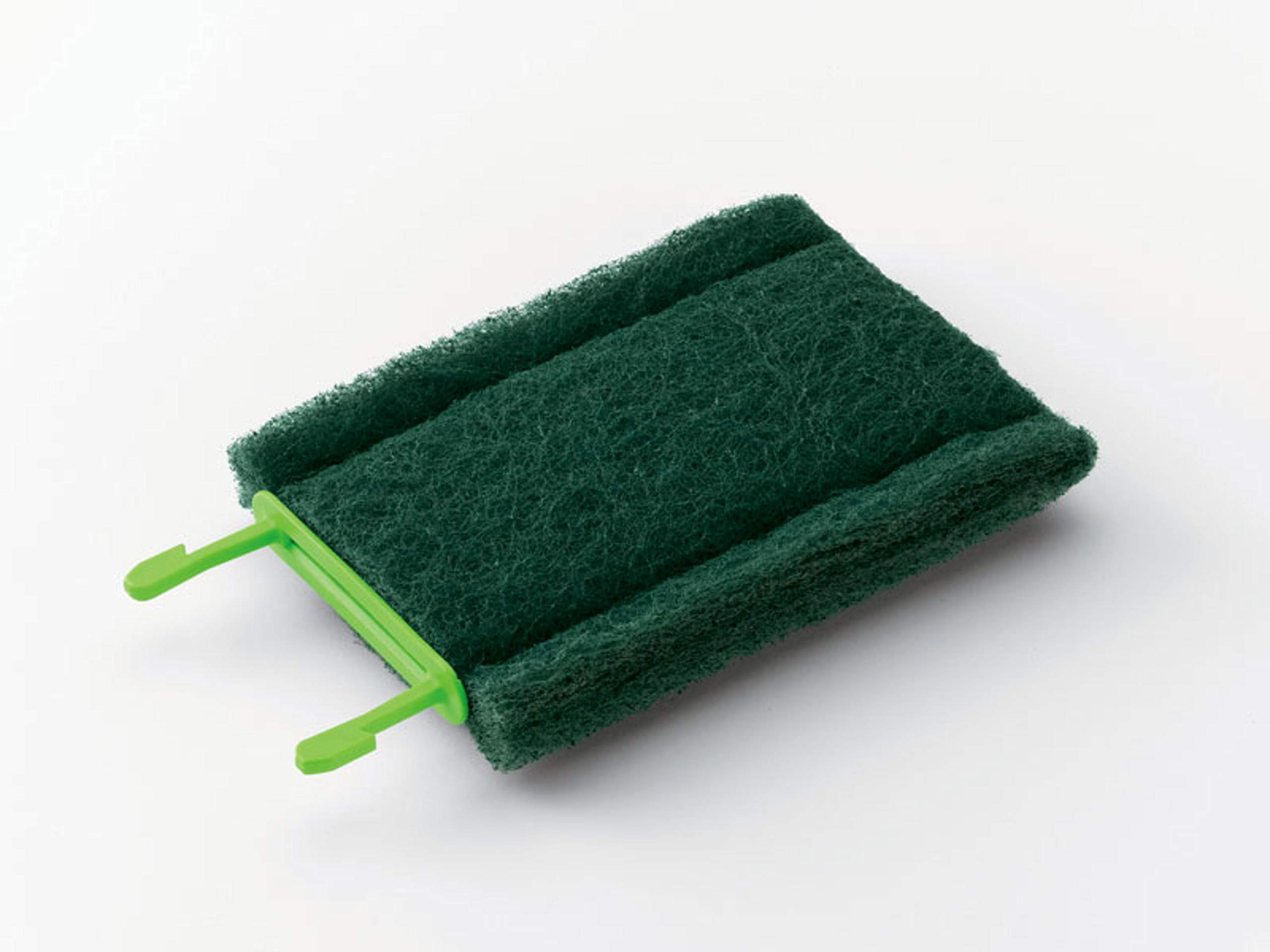 Scotch-Brite 902 Medium Duty Cleaning Pad, Green (Case of 6) by Scotch-Brite