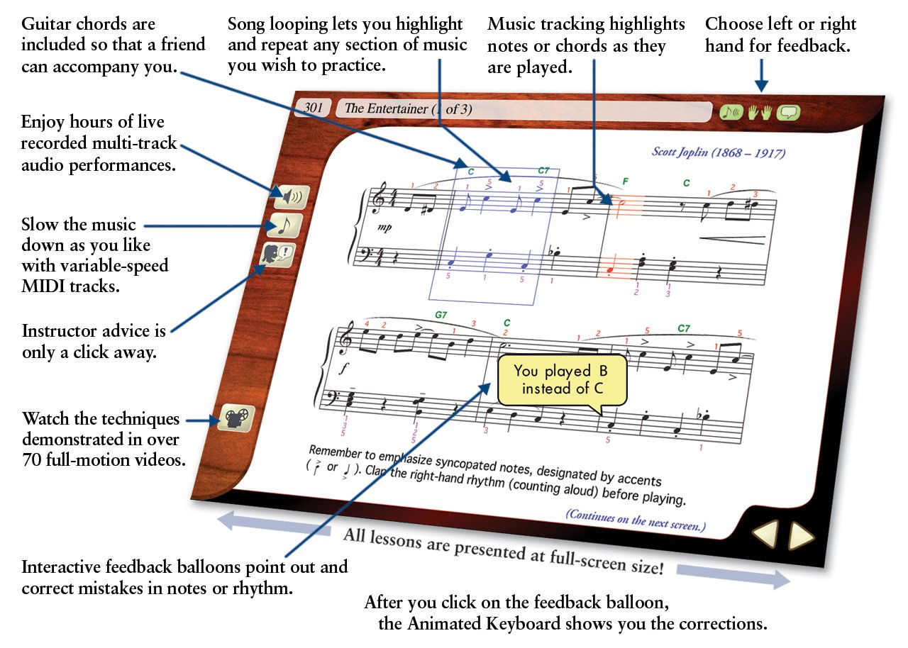 Amazon emedia piano and keyboard method v3 emedia software hexwebz Images