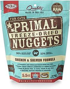 Primal Pet Foods Freeze-Dried Feline Chicken And Salmon Formula 5.5 Oz