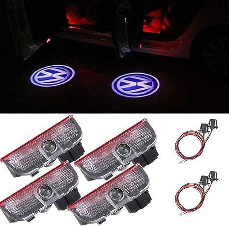 T/ürbeleuchtung Logo OTUAYAUTO Einstiegsbeleuchtung Willkommen Licht 4 St/ück