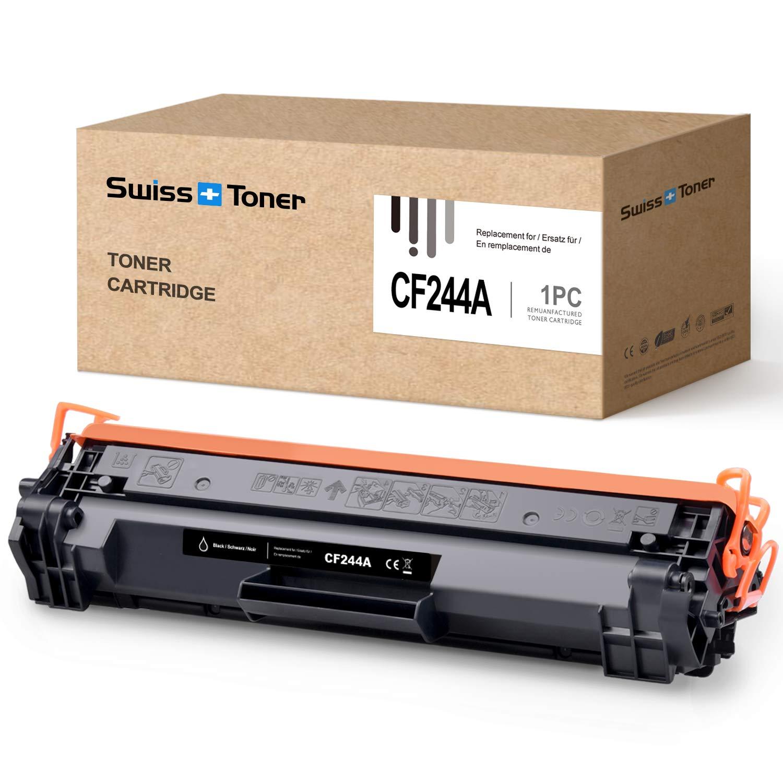 SWISS TONER CF244A Cartucho de tóner Compatible con HP 44A CF244A ...