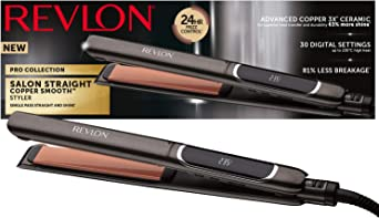 Revlon Collection Salon Straight Extra Long Copper Lisseur, 125mm RVST2175E