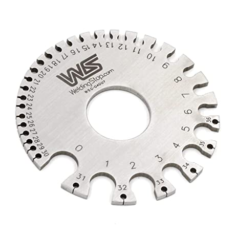 Ws 04007 round wire gauge diameter gage swg portable mini size ws 04007 round wire gauge diameter gage swg portable mini size greentooth Gallery