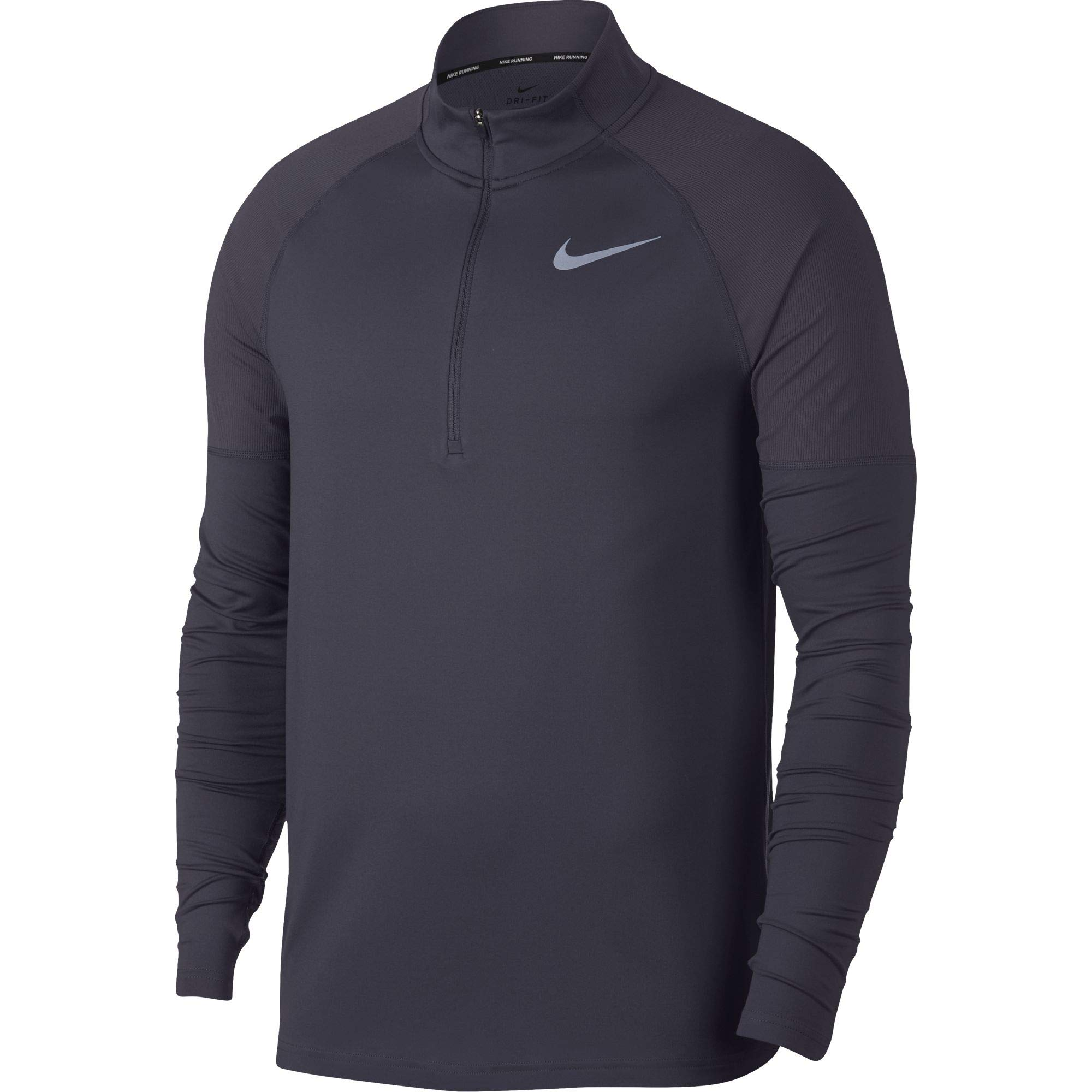 Nike Men's Element 1/2 Zip Running Top Gridiron Size Medium