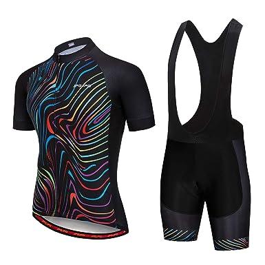 Men Cycling Jersey And Bib Shorts Cycling Bib Shorts Cycling Short Sleeve Jersey
