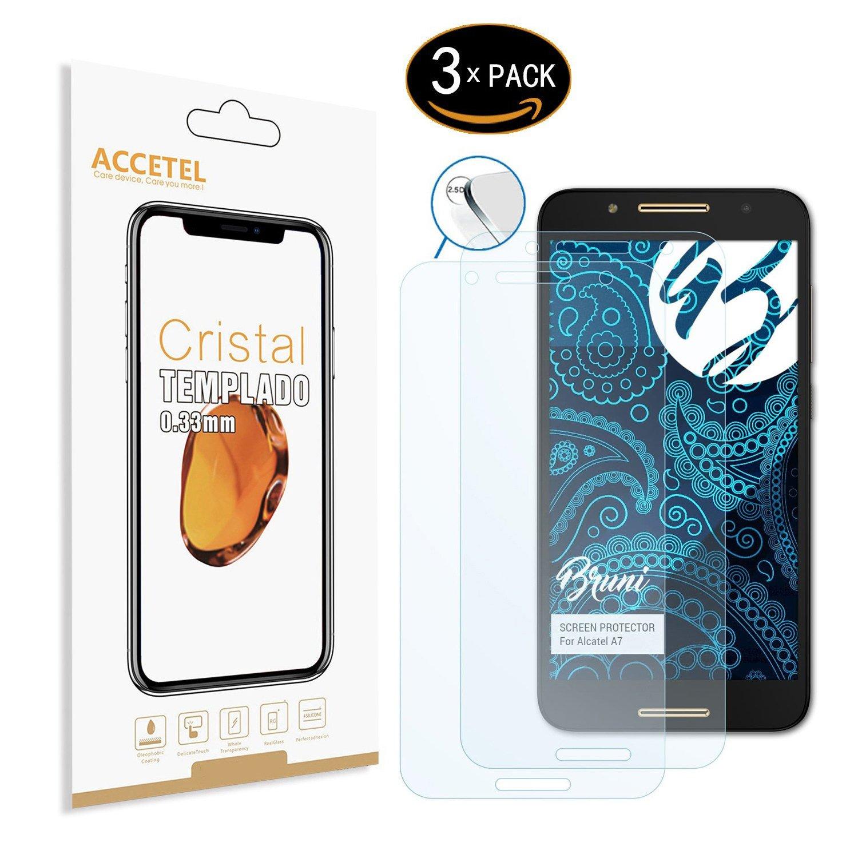 Protector de Pantalla Compatible con Alcatel A7 Protector Cristal ...
