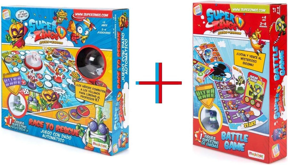 Cefa Toys Superzings Juego Profesor K + Enigma: Amazon.es: Juguetes y juegos