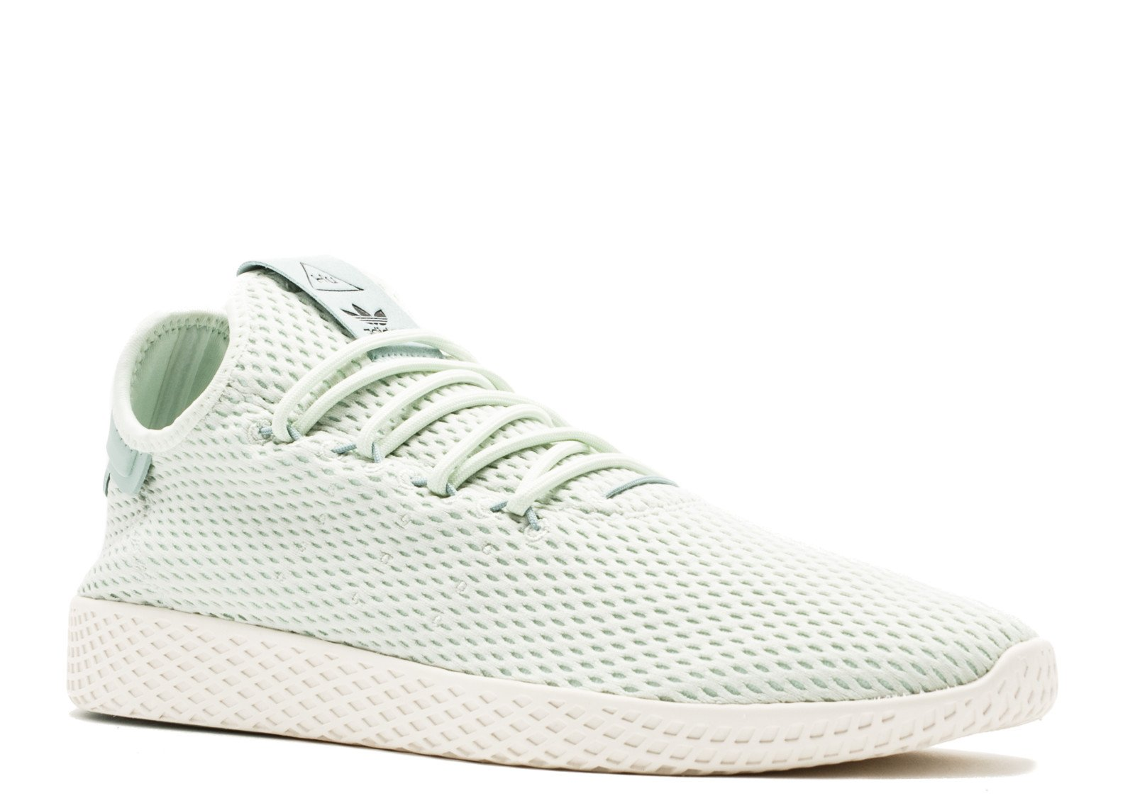 Mens adidas Pharrell Williams Tennis HU Athletic Shoe (9.5 D(M) US, Linen Green 6367)