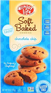 product image for Enjoy Life Chocolate Chip Soft Baked Cookies, Gluten, Dairy & Nut Free, 6-Ounce Boxes (Pack of 6)