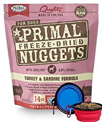 Primal Pet Food - Freeze-dried Dog Food