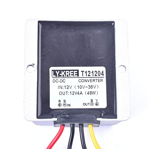 Fine Amazon Com Car Dc 12V 4A Voltage Stabilizer Surge Protector Power Wiring Digital Resources Pelapshebarightsorg