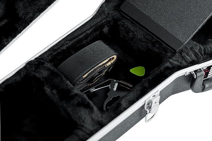 GATOR GC-335 - Estuche para guitarra de ABS (interior moldeado), color negro: Amazon.es: Instrumentos musicales
