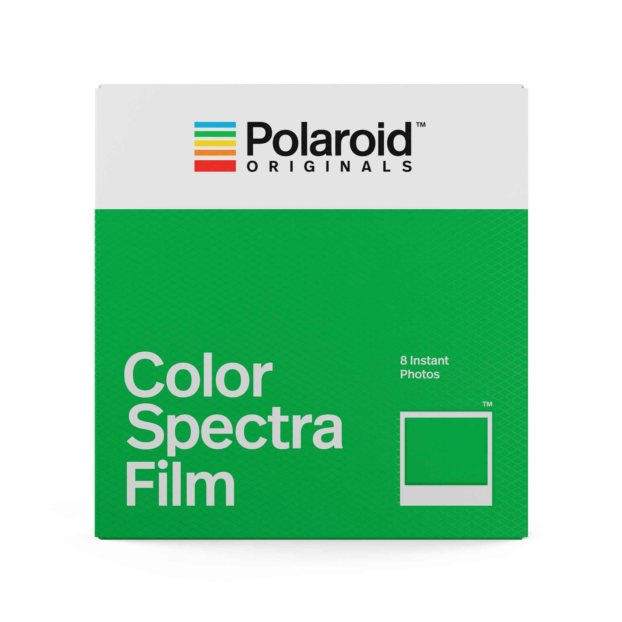 Polaroid Color Spectra Film  White
