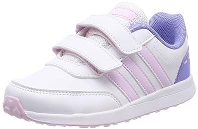 designer fashion 77a72 9857a adidas Unisex-Kinder VS Switch 2 CMF Fitnessschuhe Weiß  (FtwblaAerorrPurtiz