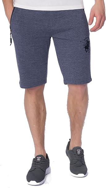 Santa Monica Polo Club - Pantalón corto - para hombre Azul azul ...
