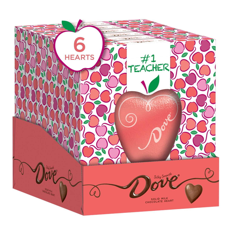 Amazon Com Dove Valentine S Milk Chocolate Solid Heart 4 Ounce