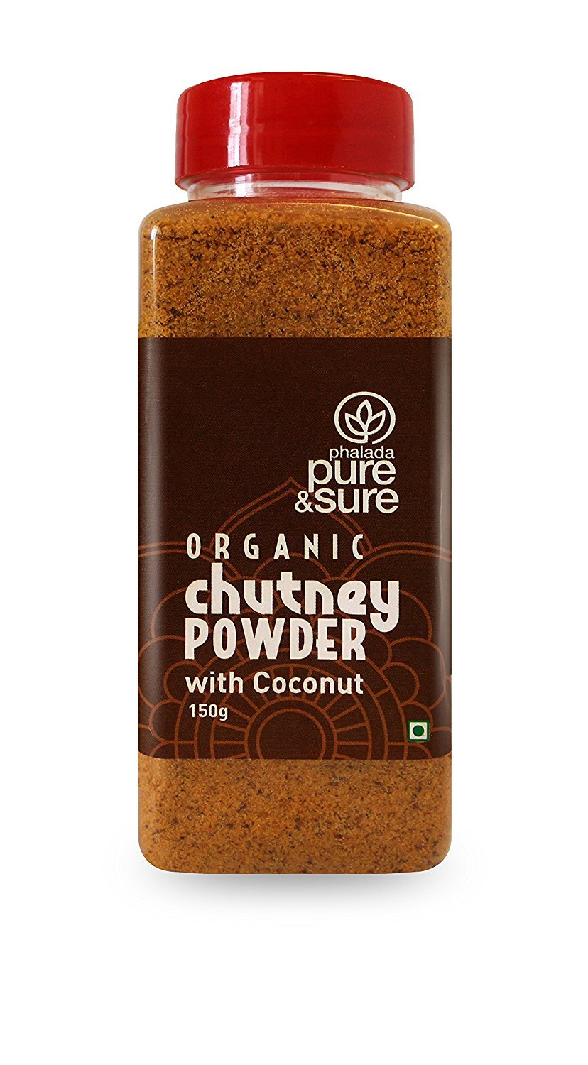 Pure & Sure Organic Chutney Powder - Coconut 150gm