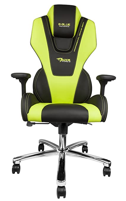 Amazon Com E Blue Mazer Gaming Chair High Grade Pu Leather Pc