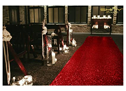 Amazon Com Shinybeauty 50ftx4ft Wedding Aisle Runner Red Carpet