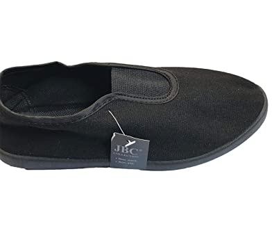 9a3d03f041b9 Childrens School Pe Shoes Unisex Relax Fit Sports Exercise Wear Slip On  Pumps  Amazon.co.uk  Shoes   Bags