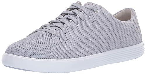 e22a4f33f Cole Haan Women s Grand Crosscourt II Sneaker Zen Blue Perforated Suede 5 B  US