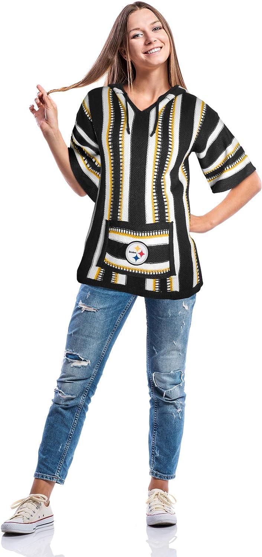 Large//XL NFL Pittsburgh Steelers Baja Hoodie