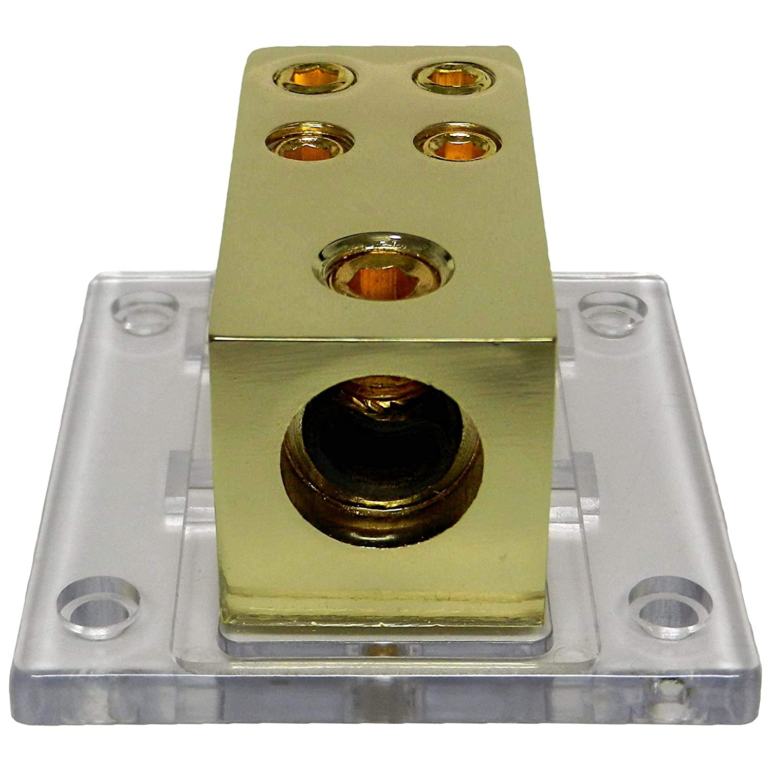 DB004 LYSB01IPNSPS2-ELECTRNCS Bass Rockers 4-Way Distribution Block 1 x 0GA to 4 x 4GA