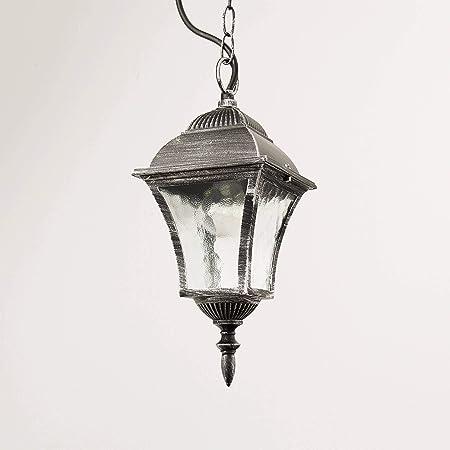 Soffitto Lampada esterno in antico-oro Hoflampe Plafoniera esterno Cortile Giardino Lampade