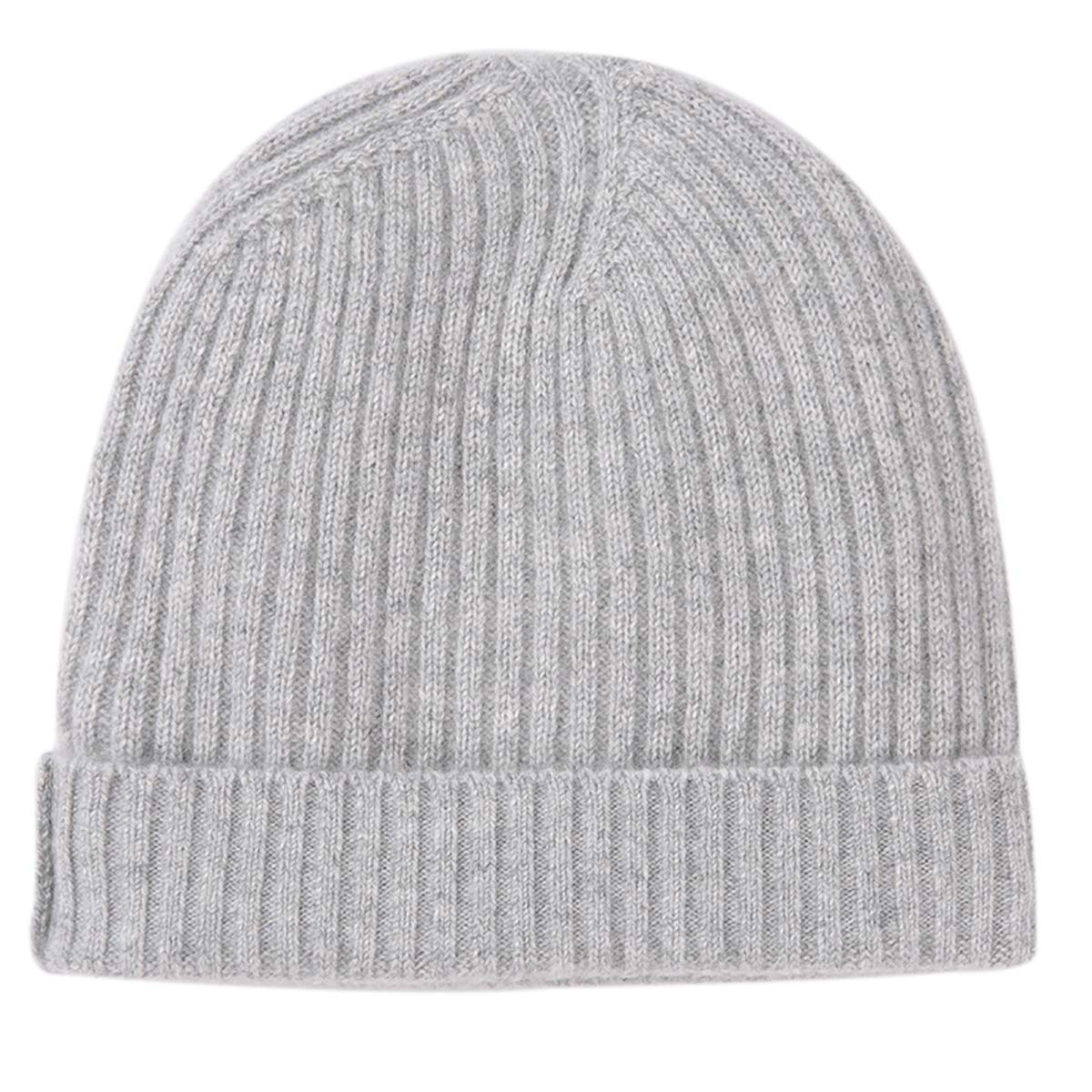 b9aff5ebc Pure 100% Cashmere Beanie for Men, Warm Soft Mens Cashmere Hat in a Gift Box