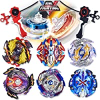 infinitoo Bey Battling Top Burst | 4D Fusion Model Metal Masters Acceleration Launcher | 2 Throwers Set with Launcher…