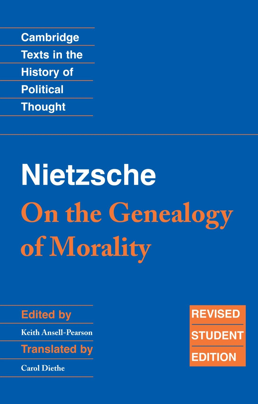 nietzsche genealogy of morals first essay analysis Here, nietzsche uses the term genealogy in its fundamental sense: an account ( logos) of the genesis of a thing  his historical analysis is a radical attack on  these morals, offering a kind of social and psychological account of  first essay.