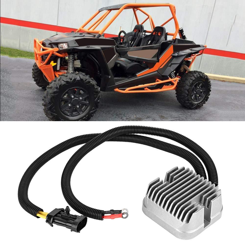 Aramox Redresseur de tension de moto redresseur de r/égulateur de tension OE # 4015229 Fit pour 570 RZR 900 XP 1000
